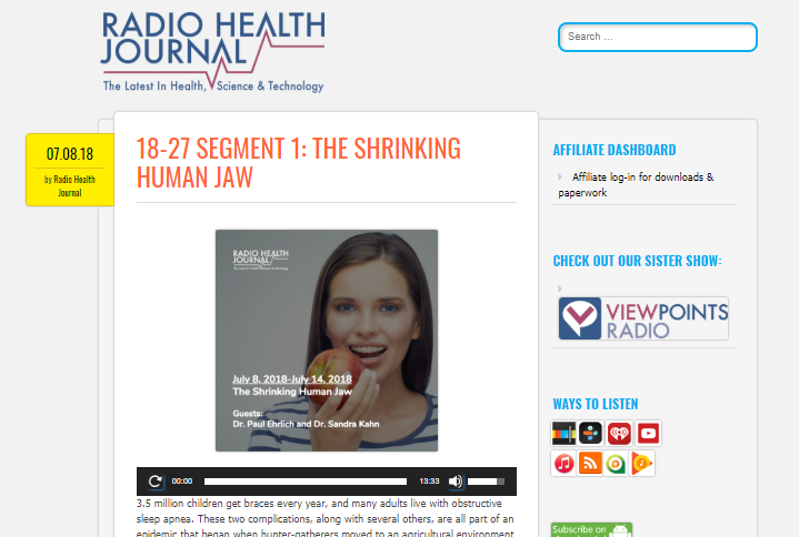 The Shrinking Human Jaw: Fascinating Podcast Reveals Effects!